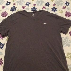 Men's Hollister V Neck T Shirt